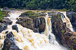 Barron Falls i Cairns, Queensland - Australien