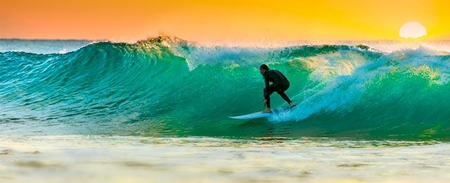 Sport og surfing i Australien