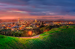 Mount Eden i Auckland, New Zealand