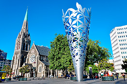 Katedral i Christchurch, New Zealand