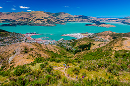 Cavendish Mountain i Christchurch, New Zealand