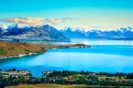 Lake Tekapo i New Zealand