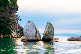 Abel Tasman National Park i Nelson, New Zealand