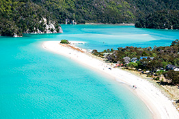 Abel Tasman i Nelson, New Zealand