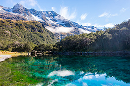 Nelson blue lake - New Zealand