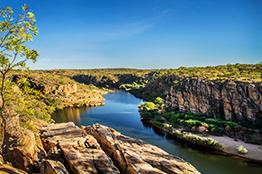 Nitmiluk nationalpark i Australien