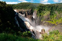 Vandfald i Cairns