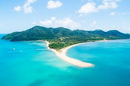 Paradis strand på Mission Beach