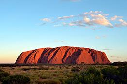 Ayers Rock i Uluru, Australien