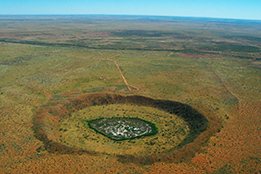 Wofle Creek Crater i Halls Creek