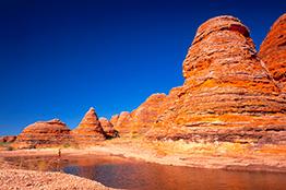Purnululu nationalpark i Australien